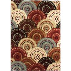 red blue rug contemporary - Google Search