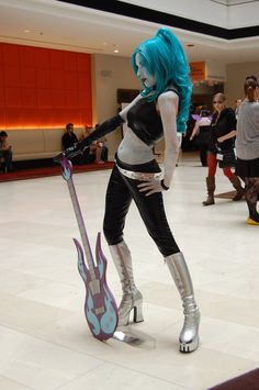 Ember Mclain Cosplay (from Danny Phantom)