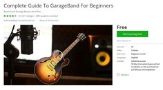 Coupon Udemy - Complete Guide To GarageBand For Beginners (Free) - Course…
