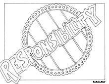 coloring pages showing respect | 1000+ images about Character Education on Pinterest ...