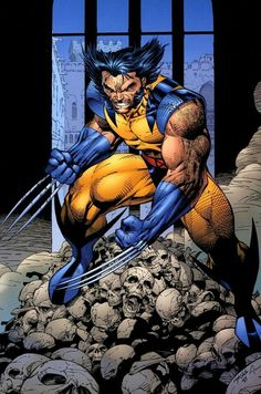 Wolverine by Jim Lee - Favorite Wolvie artists Barry Windsor-Smith, Jim Lee, Adam Kubert Favorite Writer - Chris Claremont