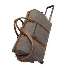 285c03c255 377 Best Canvas Duffle Bags   Travel Bags-- EchoPurse  images ...