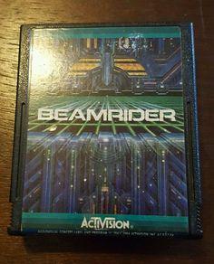 Atari 2600 VCS Beamrider Game Cartridge by Activision - RARE - NICE!