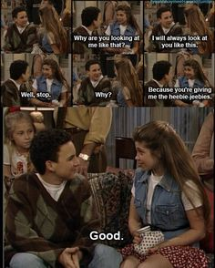 Cory and Topanga; couldn't find a good place to put this but it is one of my favorite shows of all time...