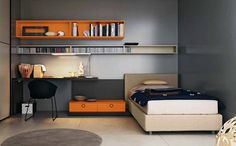Cozy Teens Boy Bedroom Interior Decorating Ideas
