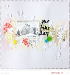 One Fine Day (Main Kit Only) by Lilinfang at @studio_calico - watercolor background