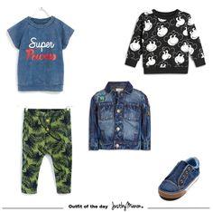 Monkey super powers. Een budgetvriendelijke outfit voor kleine jongens