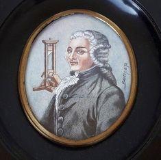 Antique Portrait Miniature of Dr. Ignace Guillotin (Rare)