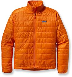 The men s Patagonia Nano Puff jacket is wind- and water-resistant and  highly compressible. This warm jacket can be worn as a mid layer or as  outerwear in ... a16fc45bb