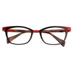 44dbd7ad0c Face a Face Yokko 1 Eyeglasses Frame color  Brown with red Lens size   Bridge size