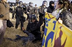Cops Mass Arrest and Brutally Pepper Spray 83 Native Americans Who Were Praying For An End To The ILLEGAL Dakota Access Pipeline