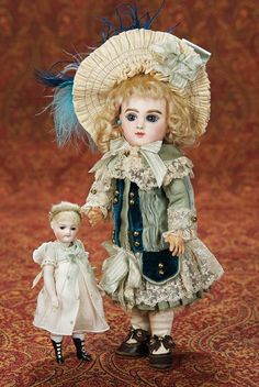 Petite French Bisque Bebe by Jumeau, Size 2 3200/2700   Proxibid Auctions