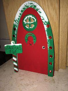 Santa's elf door