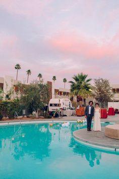 Rachel & Joel's Ace Hotel Palm Springs Wedding | Sweet Little Photographs