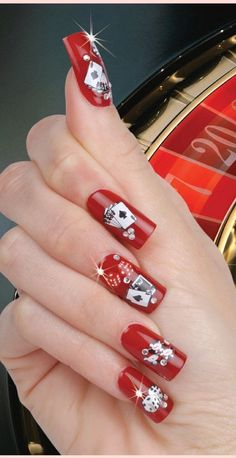 Here is Las Vegas Nail Designs Collection for you. Las Vegas N. 3d Nail Art, 3d Nails, Cool Nail Art, Nail Arts, Vegas Nail Art, Las Vegas Nails, Nail Art Design Gallery, Nail Art Designs, Gorgeous Nails