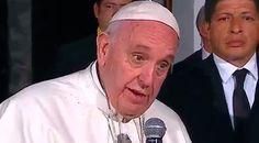 """CIUDAD DE MÉXICO, 16 Feb. 16 / 10:06 pm (ACI).-   El Papa Francisco regresó de Morelia luego de una agotadora jornada para descansar en la Nunciatura Apostólica de Ciudad de México. Mañana regresa a Roma y en esta última noche agradeció a los mexicanos que lo esperaron durante todo el día y deseó """"que Dios les retribuya este cariñ..."""