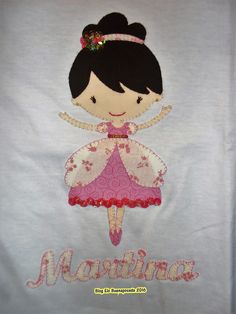 Camiseta bailarina patchwork