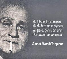 ~ Ahmet Hamdi Tanpınar