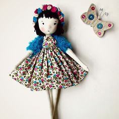 #fabricdolls #handmadedolls #boneca