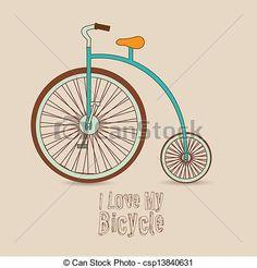Bicycle  Illustration - csp13840631