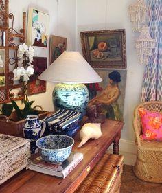 Anna Spiro and Black&Spiro's team Anna Spiro, Interior Inspiration, Design Inspiration, Amazing Decor, Cottage Interiors, Traditional House, Bohemian Decor, Country Decor, Great Rooms
