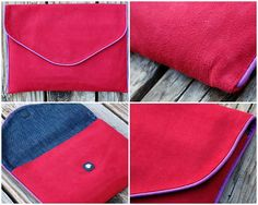 Norma Envelope Clutch - free pattern