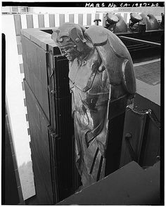 From a series of detail photographs from a Library of Congress visual survey taken before the Richfield Building's demolition document the exquisite craftsmanship lost in its destruction.