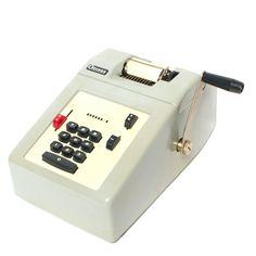 Vintage Odhner Adding Machine