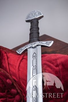Sword Etched Late Dark Ages Rebated Steel (Circa X-XI) :: by medieval store ArmStreet