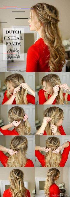 27 Gorgeous Gorgeous Half-up Half-Down Hairstyles - New Ladies .- 27 Herrlich Gorgeous Half-up Half-Down-Frisuren – Neue Damen Frisuren 27 gorgeous gorgeous half-up half-down hairstyles - Holiday Hairstyles, Down Hairstyles, Trendy Hairstyles, Wedding Hairstyles, Greek Hairstyles, Greek Goddess Hairstyles, Gorgeous Hairstyles, Ladies Hairstyles, Shag Hairstyles