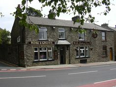 The Rose and Crown Haslingden Rossendale Lancashire England. My Pilkington ancestors trace back to Haslingden. Rough Robin Pilkington being a direct ancestor.