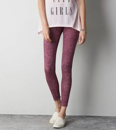 AEO Printed Legging. Show us your #AEOSTYLE on Instagram or Twitter for a chance to be featured on AE.com