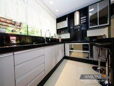 Resultado de imagem para cozinha planejada em cinza