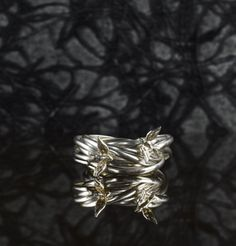 I have no words for this bird/nest ring. The description. In.Love.