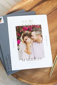 "Recently say ""I do?"" Put it in print with an @artifactuprsng Save the Date."