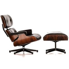 Eames Lounge Chair & Ottoman reproduction from Manhattan Home Design