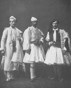 Fustanella shqiptare, Janinë, 1873