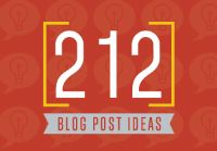 The Ultimate List Of Blog Post Ideas