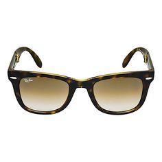 b39d06b49be7 Ray-Ban RB4105 Folding Wayfarer Sunglasses