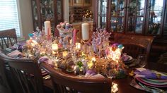 Easter Dining room table