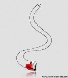 Breil gioielli collana Hertbreaker  collana in acciaio e alluminio supreme red modello tj1416 www.demarchigianotti.com