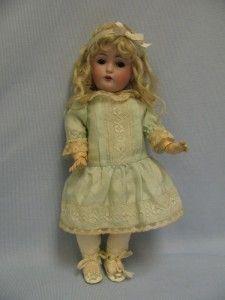 """12 ½"""" Antique c1895 Kestner 171 Doll with Original Mohair Wig Pate Sleep Eyes"""