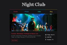 Christmas & New Year Party Email Html Email Templates, Online Templates, Online Tickets, Buy Tickets, Night Club, Night Life, Event Marketing, Email Marketing, Christmas And New Year