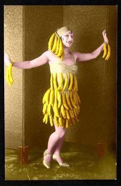Shop Banana Dress Card created by tnmpastperfect. Star Citizen, Banana Art, Dress Card, Mellow Yellow, Vintage Pictures, Vintage Photographs, Vintage Beauty, Burlesque, Art Nouveau