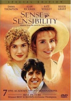 """Sense and Sensibility"" Always leaves a lump in my throat...an uncommonly deft, very funny Jane Austen adaptation, marked by Emma Thompson's finely tuned performance."