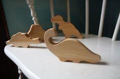little alouette | organic dinosaur teething block set by eddie
