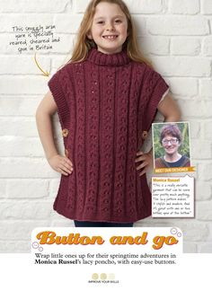 Simply Knitting May 2017 - 轻描淡写 - 轻描淡写 Pattern Making, Spring Time, Little Ones, Turtle Neck, Knitting, Sweaters, How To Make, Dresses, Fashion