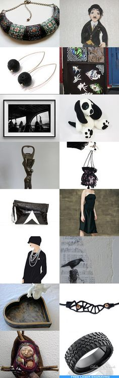 Black finds you will love ! by Nathalie on Etsy--Pinned with TreasuryPin.com