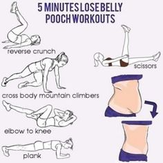 5-minutes-lose-belly-pooch-workouts
