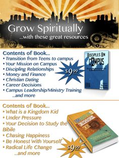 Grow Spiritually...with these Great resources